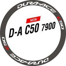 DA C50 7900 Wheel Stickers for Rim / Disc Brake Road Bike Fixed Gear DURA - ACE