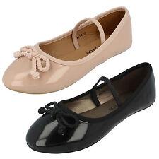 niña h2429 Charol Sintético Zapato Muñeca de Spot On