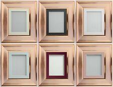 Frame Company Esmerelda Range Rose Gold Copper Picture Photo Frames with Mount