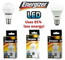 ENERGIZER 60W 75W 100 WATT GLS CLEAR LED BULB BAYONET SCREW BC/ B22 ES/ E27