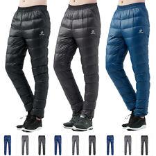 NEW Men Waterproof Breathable Warm Real Duck Down Hiking Outdoor Pants 793