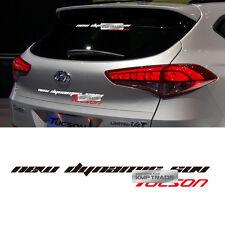 Tucson Logo Slogan Decals Sticker Cover 6Color For HYUNDAI 2016-17 Tucson TL