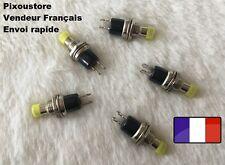 Mini Bouton Poussoir Interrupteur jaune NO Pour Voiture maquette Lot choix 7-14