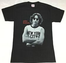 """John Lennon """"New York City"""" T-shirt Official Adult Mens Black New S,M,XL"""