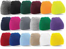 ORIGINAL PULL ON BEANIE HAT, WINTER, WARM, UNISEX, SKULL CAP, LADIES, MEN, SKI