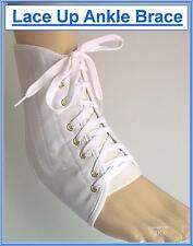 Proline Cordones TOBILLERA Blanco MEDICINAL Wear Pierna Deporte Protección
