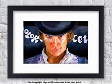Clockwork Orange - Alex Face - Artwork - Mounted & Framed Print