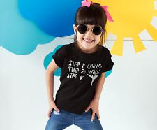 Karate Steps Shirt - Kids Karate TShirt - girl boy martial arts Tee