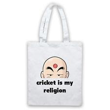 CRICKET es mi RELIGION eslogan Deportes amante Gracioso Fresco Bolso de hombro acarreo Shop