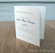 1950's Ideal LITTLE MISS REVLON doll Booklet/leaflet  (Reproduction)