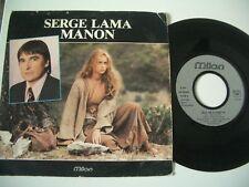 SERGE LAMA 45T MANON/JEAN DE FLORETTE.MILAN J.C PETIT.