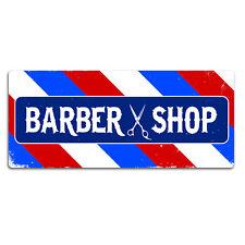 NEGOZIO DI BARBIERE SIGN-parete in metallo segno PLACCA ARTE-Hair Cut BARBA stile vecchio modello