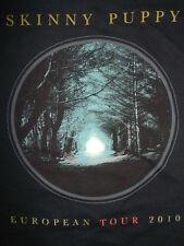 SKINNY PUPPY European Tour 2010 ORIGINAL LADIES T-Shirt Electro-Industrial EBM