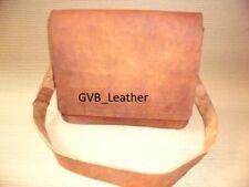 Leather Bag Messenger Briefcase Laptop Shoulder Brown Handbag Gift For Him & Her