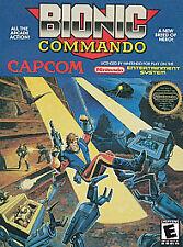 Bionic Commando Nintendo NES Game Cartridge Only