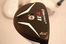 NEW mens WHITE Hybird Golf Clubs taylor fit custom made #4 CLUB 22° graphite reg