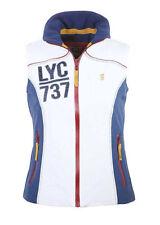 Lansdown Ladies LYC/737 Gilet - Cloud Dancer/Navy Size 8-18