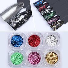 BORN PRETTY Colorful Irregular Sequins Glitter Paillette Nail Flakies Powder DIY