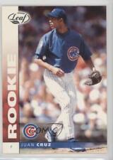 2002 Leaf National Convention #163 Juan Cruz Chicago Cubs Baseball Card