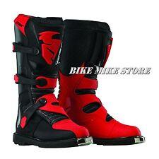 THOR BLITZ  Kinder Cross Enduro Stiefel schwarz / rot  GR. 32-39 (1-7)