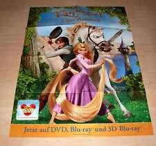 Filmposter A1 Neu Walt Disney - Rapunzel - Neu verföhnt