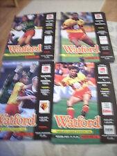 6.3.93 Watford v Swindon Town programme