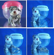 PIT BULL TERRIER #24 HOOD HOUNDS DOG FIGURE DANGLER KEYCHAIN LIGHT FAN LAMP PULL