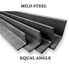 """1"""" x 1"""" e 2"""" x 2"""" angolo di fabbricazione in acciaio dolce barra di ferro uguale angolo GRATIS"""