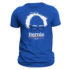 Bernie Sanders 2020 Hair & Glasses Funny Men's T-Shirt - All Colors