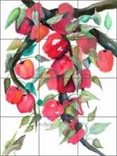 Apple Tile Backsplash Neufeld Fruit Art Ceramic Mural PNA025