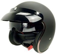 DOT Vintager Motorcycle Retro Open Face Helmet Motociclismo Capacetes
