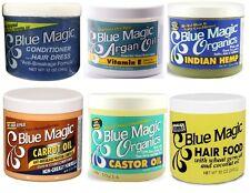 BLUE MAGIC HAIR CREAM/ CONDITIONER/GREASE/ PRESSING OIL/ ARGAN BERGAMOT