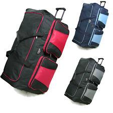 XXL Travel Luggage Wheeled Trolley Holdall Suitcase  Duffel Cargo Bag 134 L UK