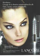 PUBLICITE  ADVERTISING 2008  LANCOME cosmétiques maquillage