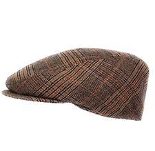 Schiebermütze Flatcap Schirmmütze Herrenmütze Winterkappe Ohrenschutz Kunstleder