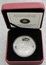 2012 CANADA SILVER $20 DOLLARS A. LISMER NOVA SCOTIA FISHING  PROOF  1 OZ. 9999
