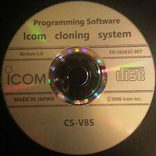 Icom CS-V85 Programming Software for IC-V85