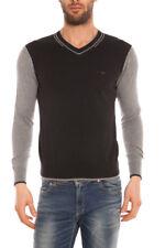 Maglia Maglietta Armani Jeans AJ Sweater Pullover -35% Uomo Blu B6W32VB-DF