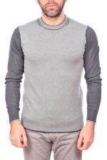 Maglia Maglietta Armani Jeans AJ Sweater Pullover -25% Uomo Grigio B6W29VB-DE