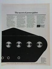 retro magazine advert 1982 SEYMOUR DUNCAN pickups