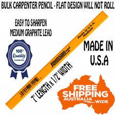 New Carpenter Pencil Soft Lead Builders Carpenters Carpentry Mark Wood Pencils