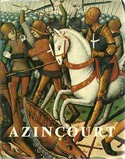REGIONALISME PAS-DE-CALAIS - HISTOIRE / AZINCOURT - G. BACQUET -1977- MOYEN-ÂGE