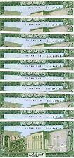 LOT Lebanon, 10 x 5 Livres, 1986, P-62 (62d), UNC