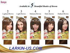 NEWEST Hoyu Bigen ONE PUSH Cream Color Kit - Free Shipping!