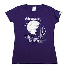 Adventure Before Dementia Voile T-shirt femme Yacht Sail Drôle Cadeau Anniversaire