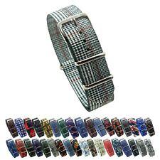 Graphic Pattern Ballistic Nylon RAF Mod Military Replacement Watch Strap / Band