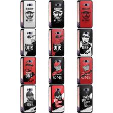 LIVERPOOL FC LFC JURGEN KLOPP BLACK HYBRID GLASS BACK CASE FOR SAMSUNG PHONES