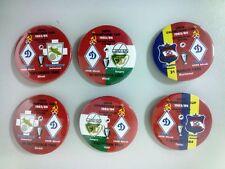All Dinamo Minsk USSR Belarus eurocups match badges 1983 - 2015