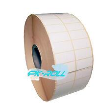 Térmica Impresora de Dirección Blanco Auto Adhesivo Pegajoso Etiquetas 50x25mm 2 X 1 pulgadas