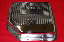 Turbo TH 350 Chrome Transmission Pan Trans TH350 DEEP